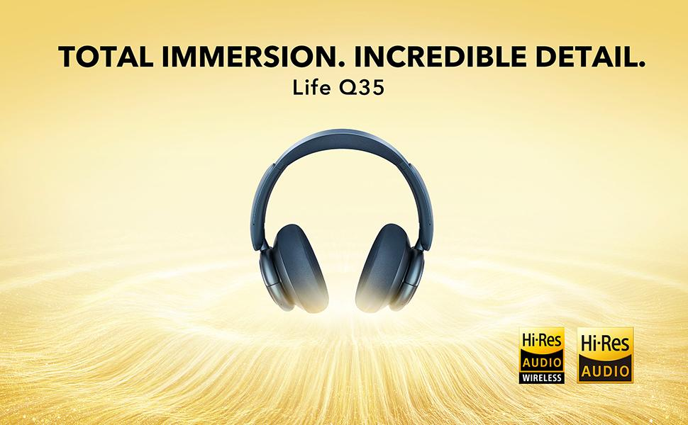Life Q35 Total Immersion. Incredible Detail.