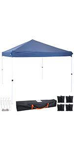 Blue Standard Canopy and Sandbags