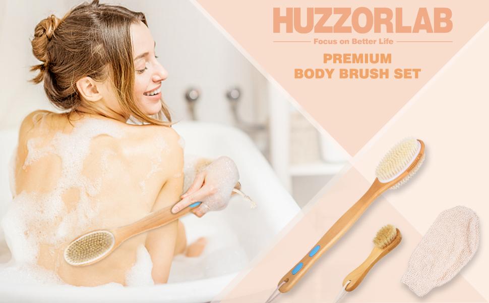 body brush set for women