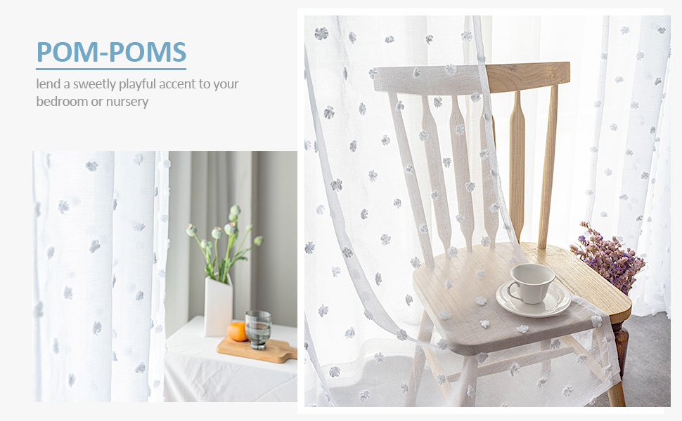 sheer curtains for girls room