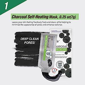 Charcoal Self-Heating Mask