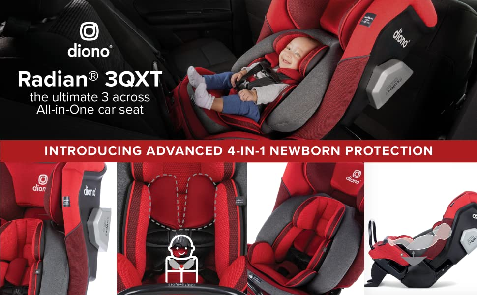 Diono Radian 3QXT all in one convertible car seat