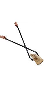 Sunnydaze Log Claw Grabber - 40-Inch