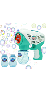 Bubble Gun with Music and Light