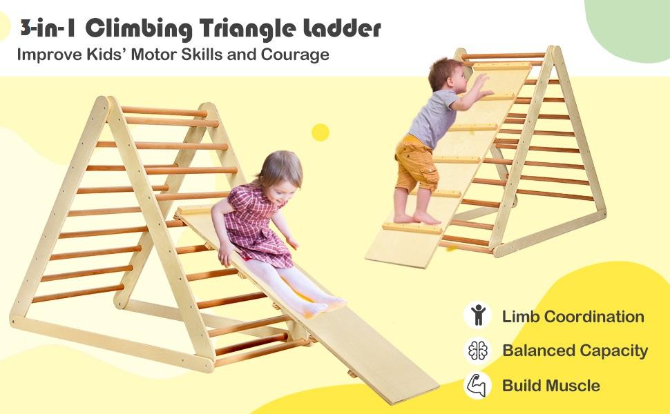 Triangle ladder