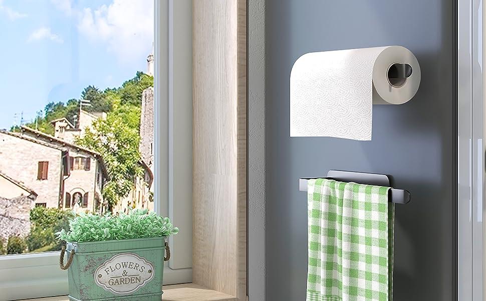 Magnetic Paper Towel Holder