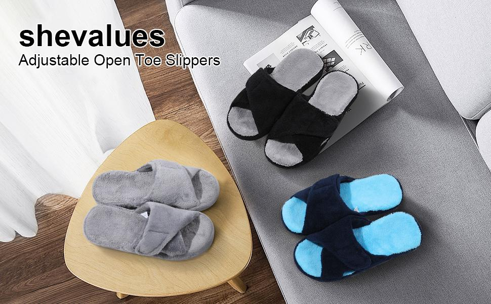adjustable house slippers