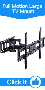 Full Motion Large TV Mount