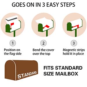 "Waterproof Mailwraps Standard Size 18"" X 21"" for Welcome Home Garden Yard Decor"