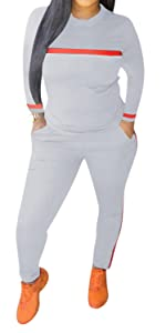 SWEATSUITS SETS FOR WOMEN TWO PIECE