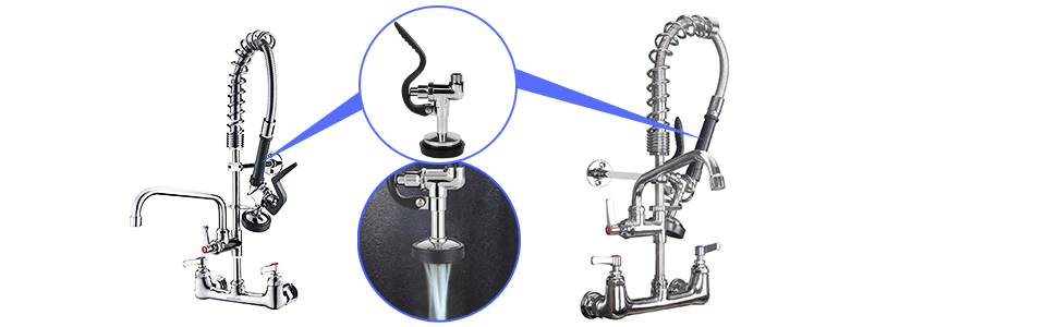 commerciial faucet parts