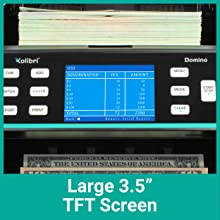 Kolibri Domino - Large 3.5amp;#34; TFT Screen