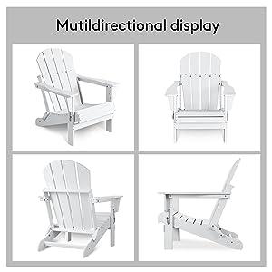 Adirondack Chair for Patio Garden