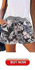 Floral Summer Shorts