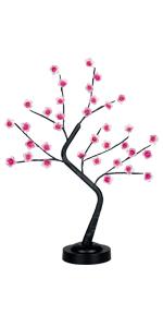 Cherry Blossom Tree Lamp