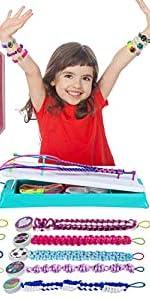 Friendship Bracelets Maker Making Kit