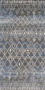 black and blue lattice