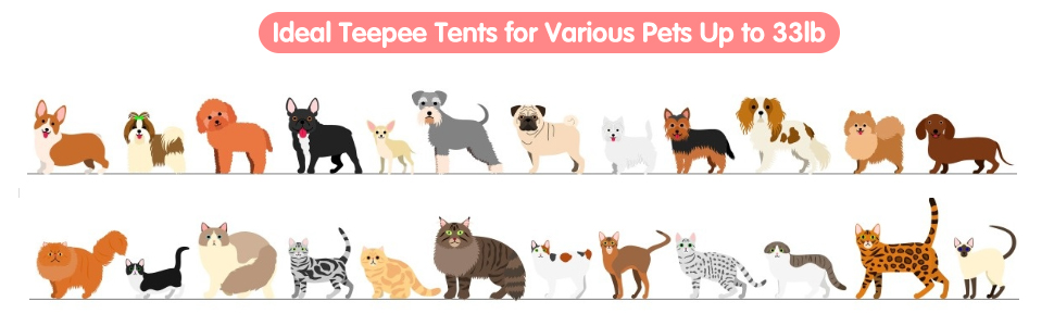 teepee for pets