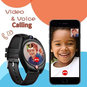 kids video call watch