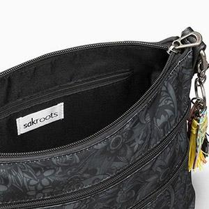 zipper, pockets, organization