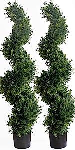 Artificial Cedar Cypress Trees/Artificial Cypress Topiary Trees