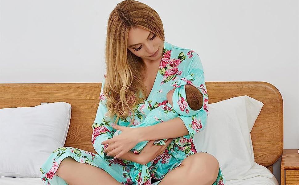 Aqua woman robe