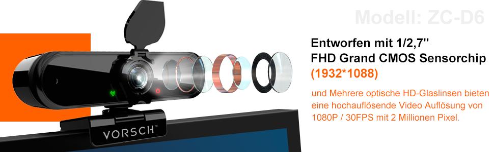 FHD webcam 2K