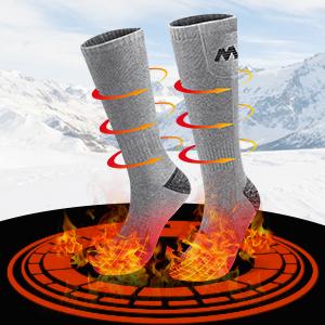 heated hunting socks