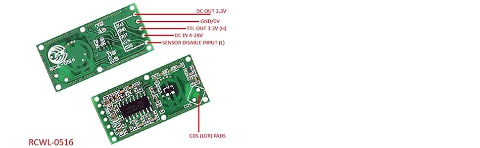 RCWL-0516 Motion Detection Sensor