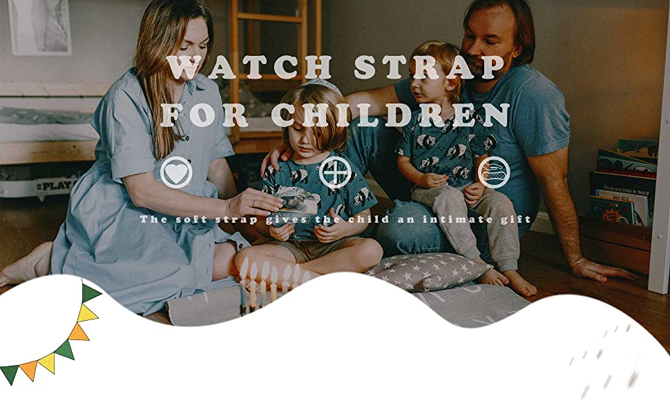 Straps Compatible with Fitbit Ace 3 for Kids