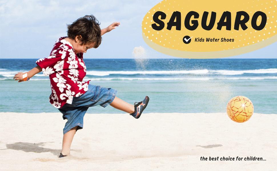 Water Shoes for Kids Boys Girls Aqua Socks Barefoot Beach Sports Swim Pool Quick Dry