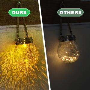 hanging solar lights