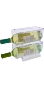 cuisinart stackable wine bottle holder
