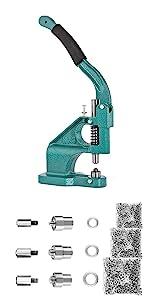 grommet machine silver kit