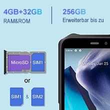 4GB+32GB