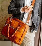 Berliner Bags Laptoptasche Madrid aus Leder 15 Zoll Umhängetasche Businesstasche Aktentasche für ...