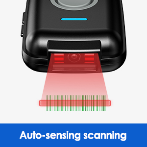 auto sensing barcode scanner