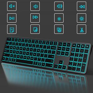 full size bluetooth keyboard