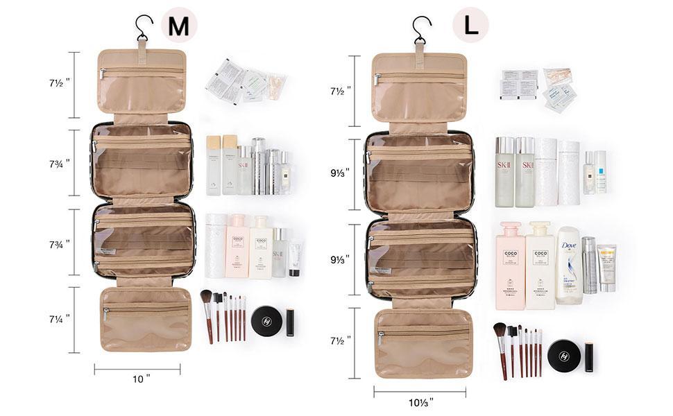 BAGSMART Large Toiletry Bag