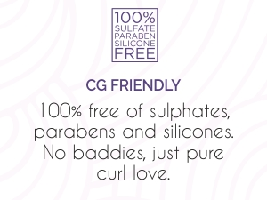 CG Friendly, free of Sulphate, parabens and silicones
