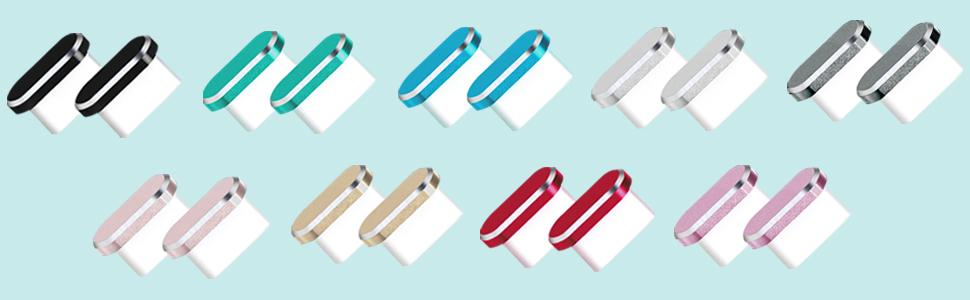 usb c dust cover assorted colors