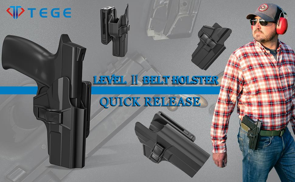 60° Adjustable belt holster
