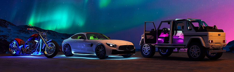 neon lights for cars
