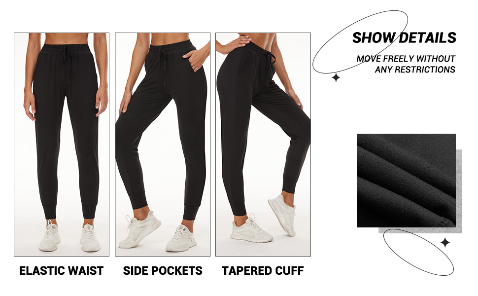 2 Pack Sweatpants for Women-3