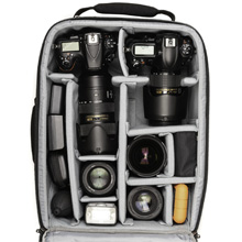Specially designed interior to gear for carry-on. Meets most U.S. International airline carry-on