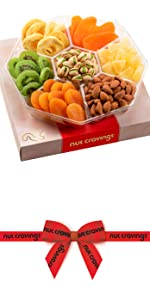 Red Gift Box fruits Large