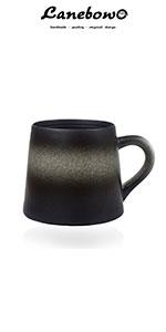 black gradient mug