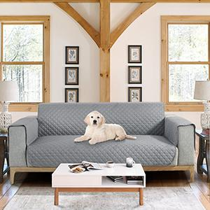 Sofa Cover 3 Seater;Sofa Protector;Chair Cover;Slip Cover for Dogs;Sofa Cover Khaki