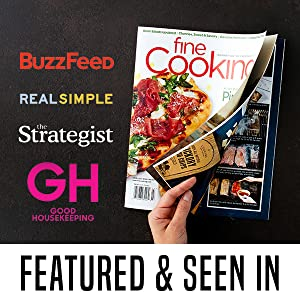Featured in Fine Cooking, Buzzfeed, Real Simple, The Strategist, and Good Housekeeping
