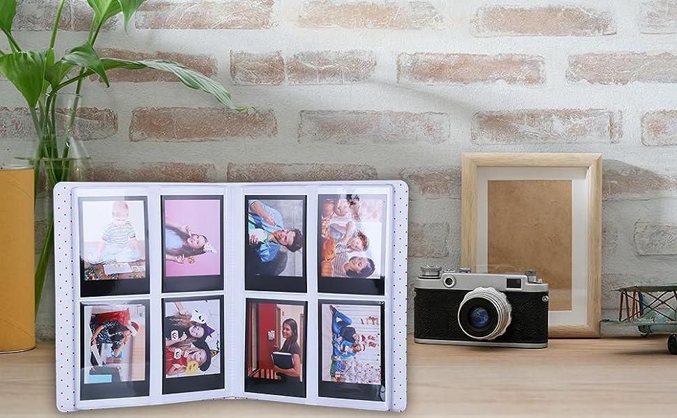 128 Pockets Mini Photo Album